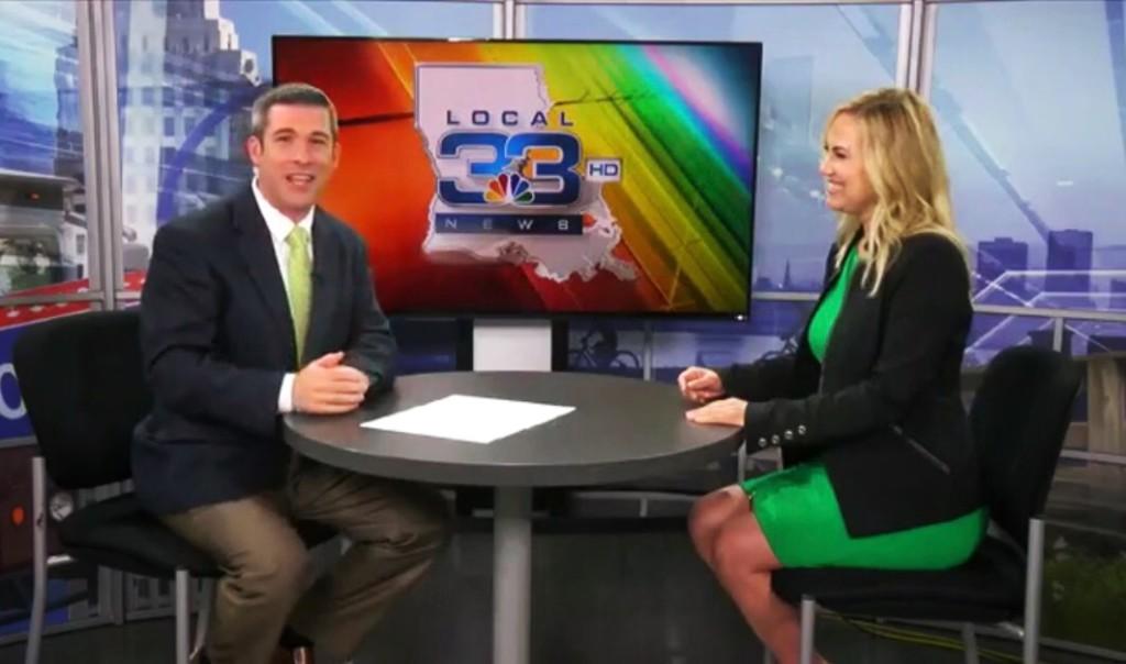 April Armstrong on NBC Louisiana