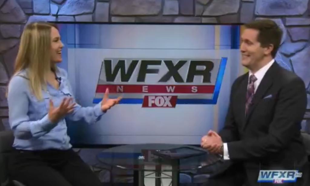 April Armstrong on FOX News-Virginia